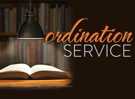 Ordination Service for Daryl Halter