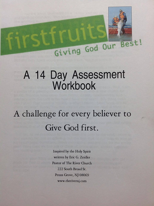 Firstfruits - Giving God our Best