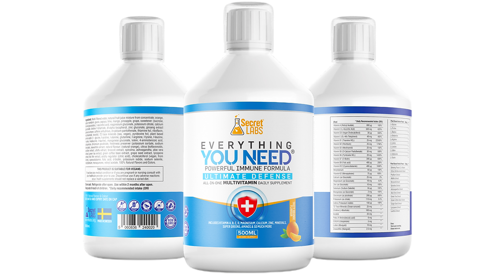 3-Pack Multivitamin Drink Secret Labs® Everything You Need®