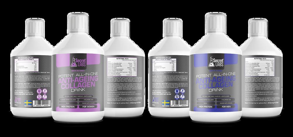 hydrolysed marine collagen