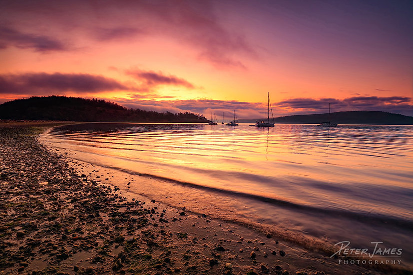 San Juan Islands Beach Photography for Sale