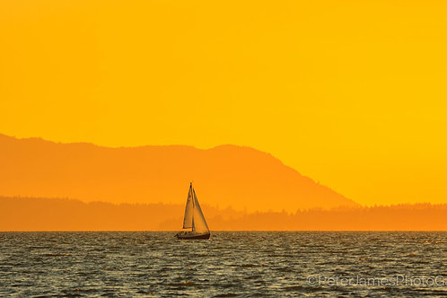 Summer Sailing on Bellingham Bay