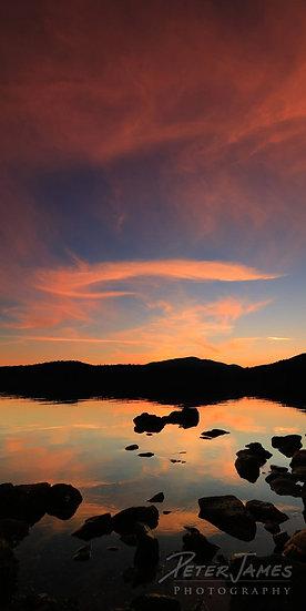 Sensational Sunset Over East Sound