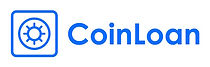 Logo of CoinLoan, a company offering loans secured by cryptoassets.
