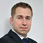 This is a headshot of Tomáš Kostrhoun,Head of Loans and Mortgages at MONETA Money Bank.