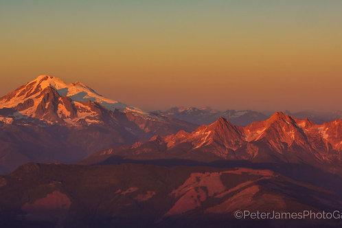 Mount Baker Alpenglow