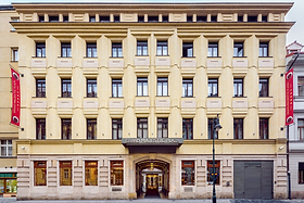 This is an external view of Hotel Grand Majestic Plaza Prague, where Smartgage will take place.
