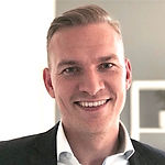 Headshot of Jacob Tinsfeldt, Head of Debt Collection at Nordea.