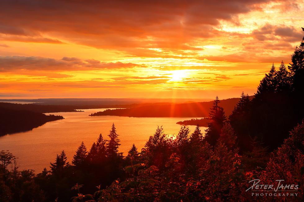 Lake Whatcom Chanterelle Sunset