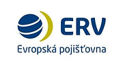 This is the logo of ERV Evropská pojišťovna, an insurance company focused on travellers No. 1 in the Czech market.