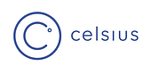 Logo of Celsius Network, a new way to deposit, borrow and earn interest with crypto.