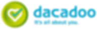 This is the logo of dacadoo, a mobile health engagement platform for companies in the healthcare sector, corporate health promotion and wellness markets.