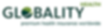 This is the logo of Globality Health, the international health insurer with a special focus on expatriates.