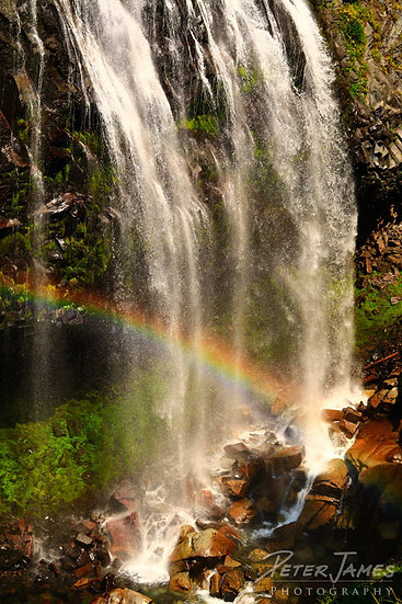 Rainbow Infused Waterfall