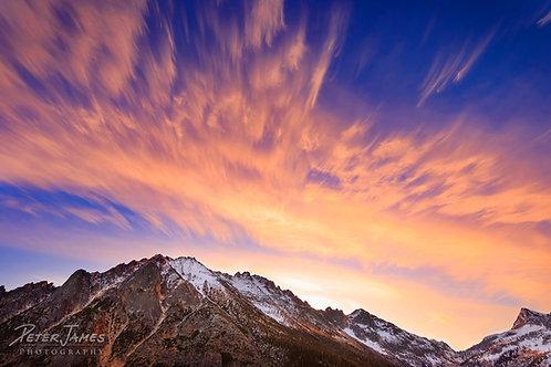 Kaleidoscope Sky Over Kangaroo Ridge