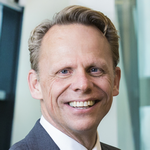 This is a headshot of Tom Kliphuis, CEO at Coöperatie VGZ, the second largest health insurance provider in the Netherlands.