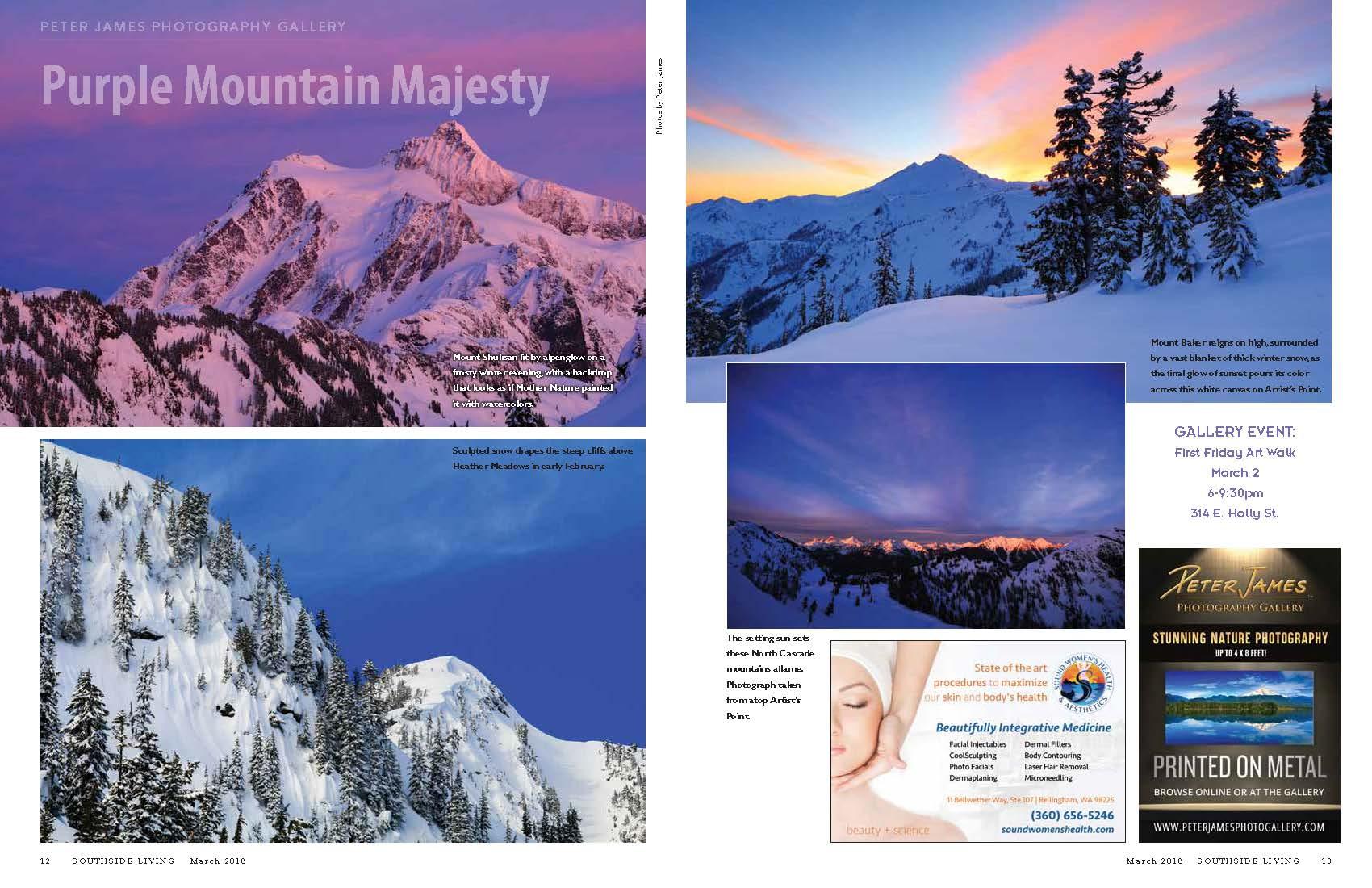 Mount Baker at Sunset