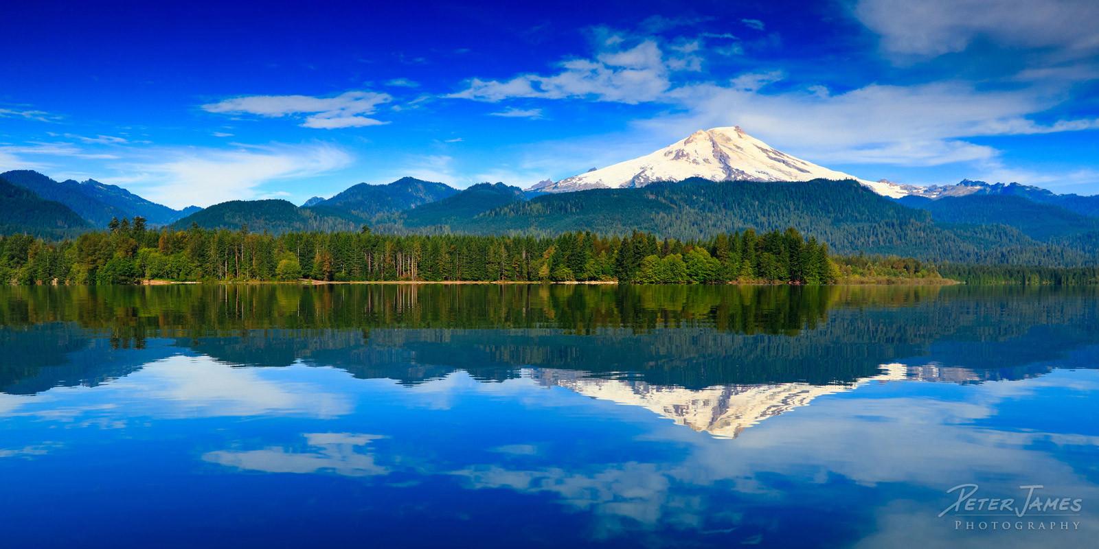 Summer Morning at Baker Lake