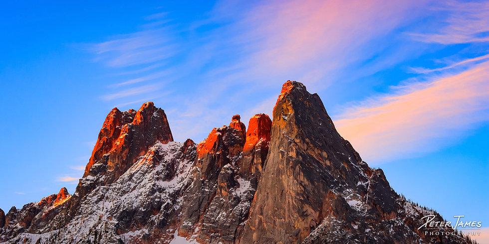 fine art Cascade mountain photography prints for sale