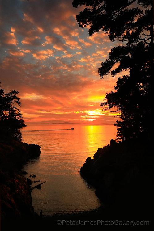Cruising Into The Sunset