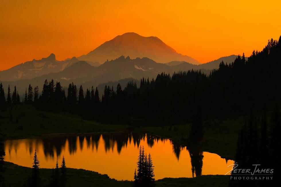 Mount Rainier Above Tipsoo Lake