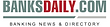 Logo of BanksDaily.com, one of the world's largest databases of banks and banking groups.