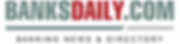 This is the logo of BanksDaily.com, one of the world's largest databases of banks and banking groups.