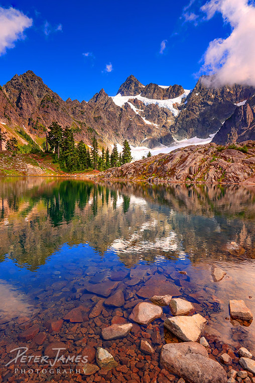 Dreamy Lakeside Shuksan Reflection