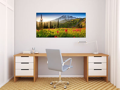 Pacific Northwest Home Office art