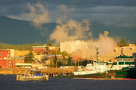 Port of Bellingham Stock Photography Washinton State