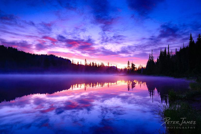 First Blush At Reflection Lakes