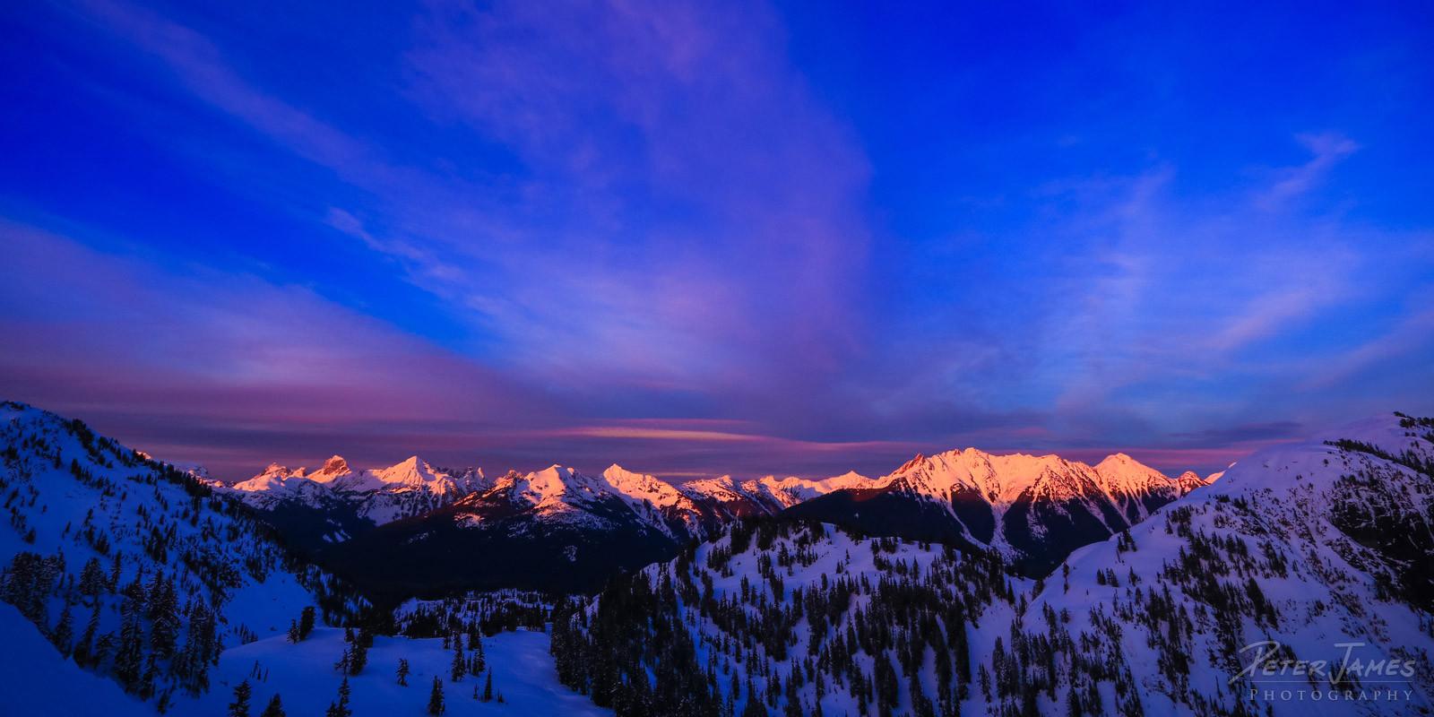 North Cascade Mountains Aglow