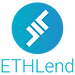 Logo of ETHLend, a DApp (Decentralized Application) that runs on the Ethereum Network, meant to offer secure peer-to-peer lending via Smart Contracts.