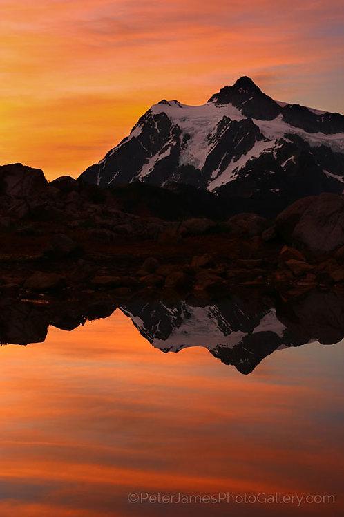 Mount Shuksan Sherbert Sunrise