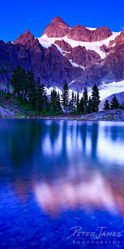 Alpine Lake Ann Twilight