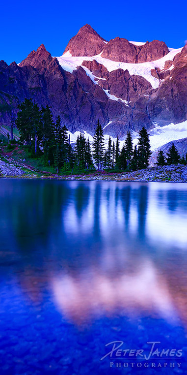 Alpine Lake Ann Twilight