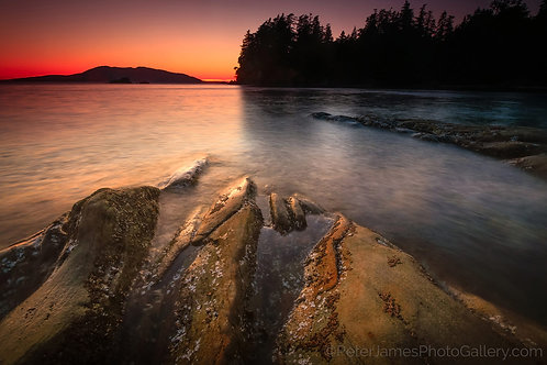 Chuckanut Coast Sandstone Sunset