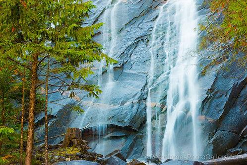 Bridal Veil Falls on Index Mountain