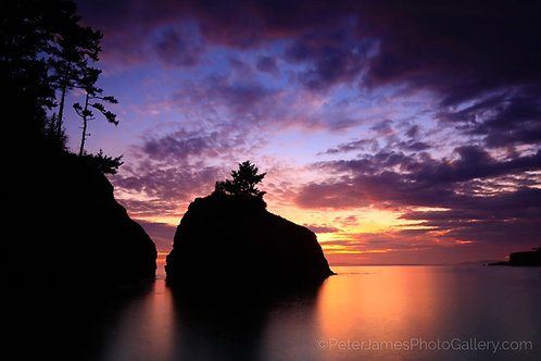 Lighthouse Point Sea Stack Sunset