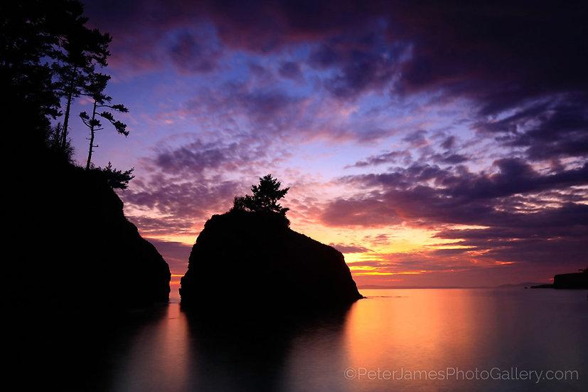 $140 - Lighthouse Point Sea Stack Sunset
