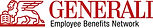 Logo of Generali Employee Benefits, a strategic unit of the Generali Group dedicated to provide employers with insurance solutions for their workforce.
