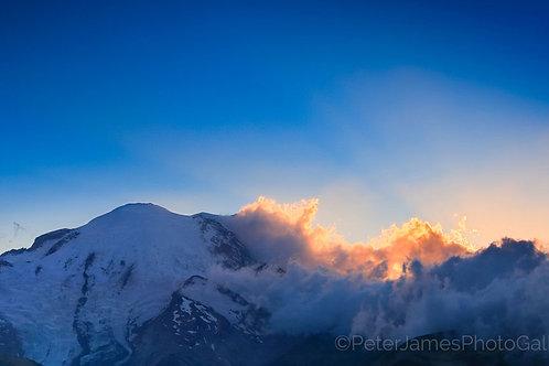 Mount Rainier Sunset at Sunrise