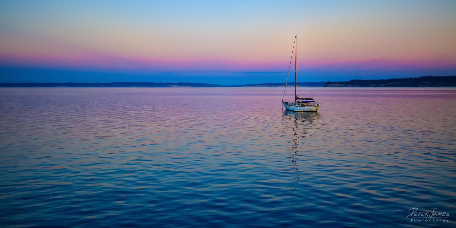 Sailboat in Twilight