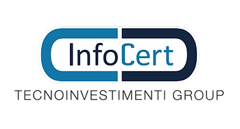 This is the logo of InfoCert, the largest Certificate Authority in Europe and a leading provider of trust based business solutions for organisations and businesses to interact online with customers and citizens, in full compliance with EU laws and at the highest level of trust.