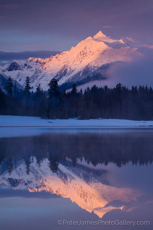 Winter Reflections of Mount Shuksan