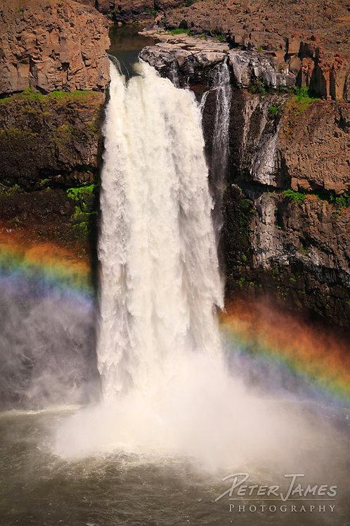 Palouse Falls Rainbow Plummet