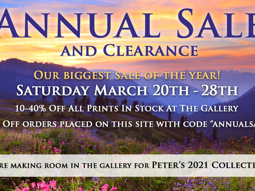 Annual Sale and Clearance 2021