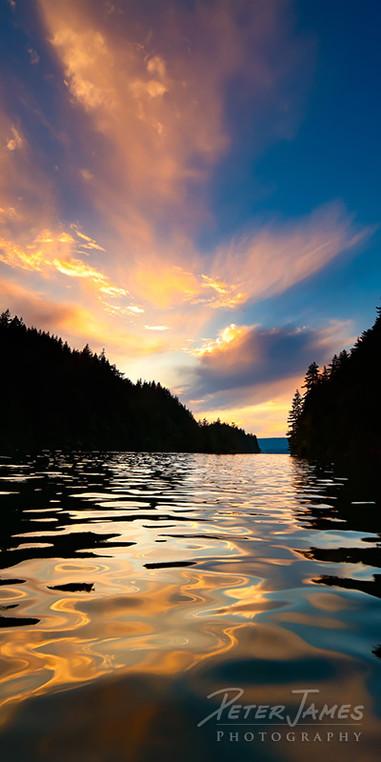 Glassy Lake Whatcom Reflections