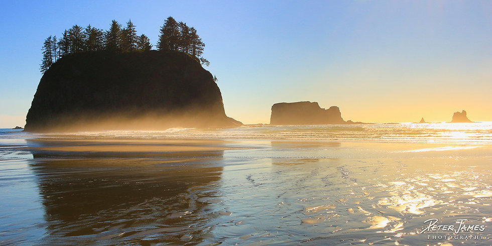 Olympic Coast Second Beach Photography for Sale