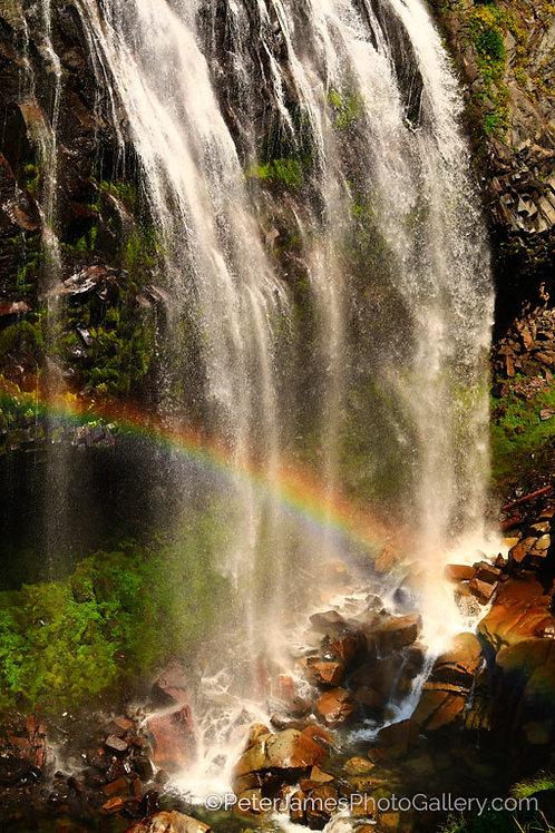 Rainbow Infused Waterfall